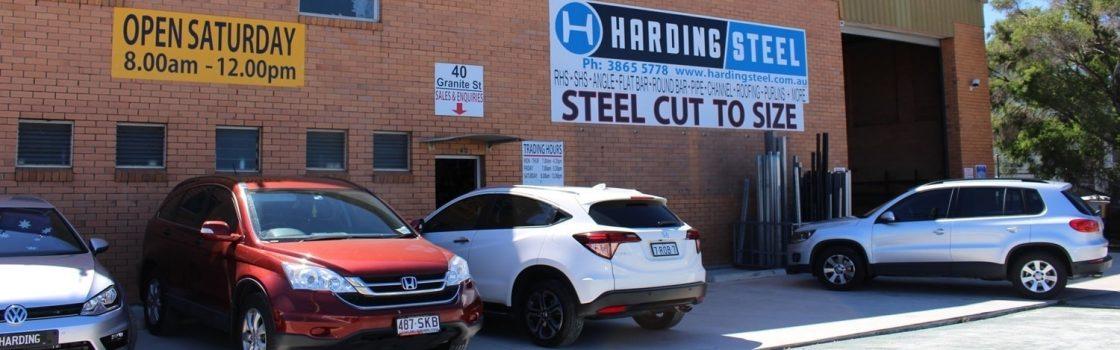 outside harding steel